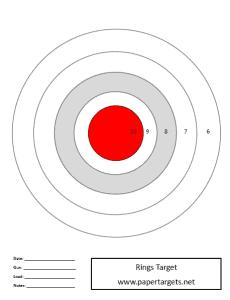 rings target